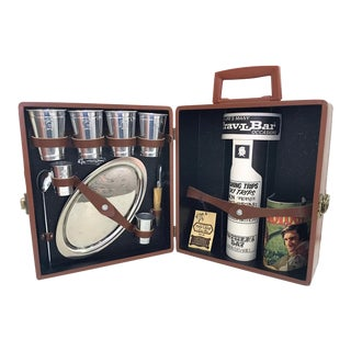 Vintage Travel Bar Kit