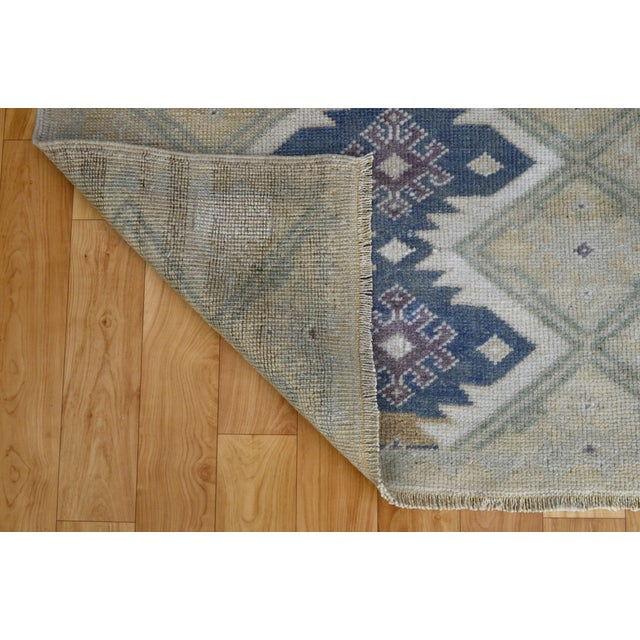 "Hand-Knotted Turkish Rug - 2'8"" x 6'9"" - Image 8 of 9"