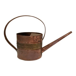 Copper and Brass Watering Can