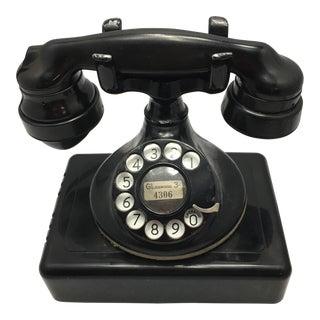 Western Electric Black 102 Telephone