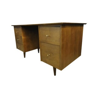 Paul McCobb Mid Century Planner Group Desk