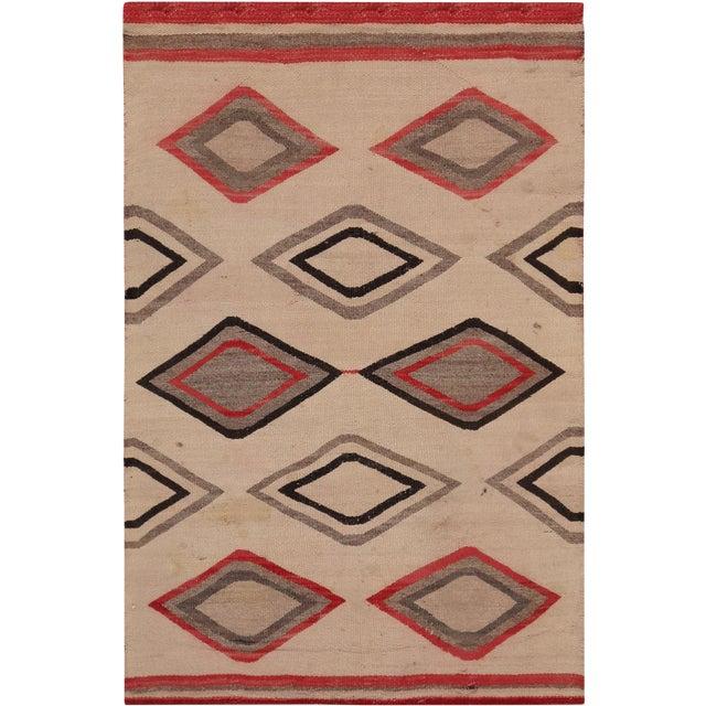 """Pasargad Vintage Navajo Area Rug - 2' 7"""" X 4' - Image 1 of 3"""