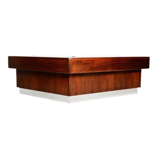 Mid-Century Modern Monteverdi & Young Executive Desk by Maurice Bailey