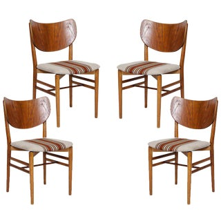 Set of 4 Eva & Niels Koppell Dining Chairs