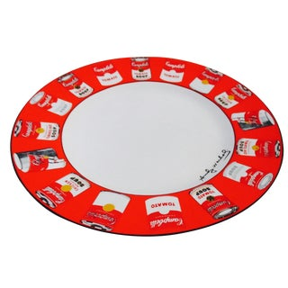 Andy Warhol Iconic Soup Can Plate