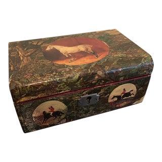 Decoupage Jewelry Box