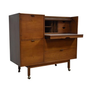 Mainline by Hooker Roll Top Desk