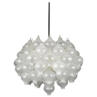 "J.T. Kalmar Blown Glass ""Tulipan"" Chandelier"