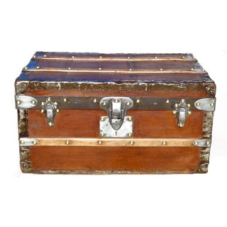 C 1900 Louis Vuitton Half Trunk