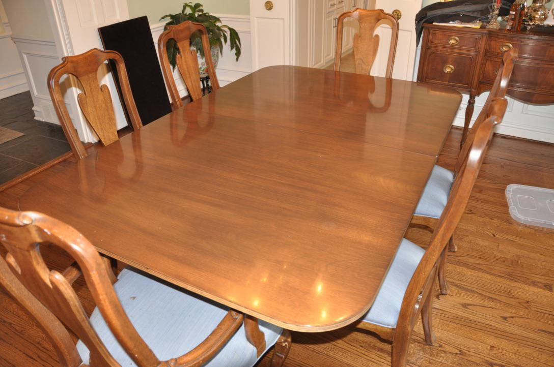 Kittinger Colonial Williamsburg Dining Table   Image 6 Of 6