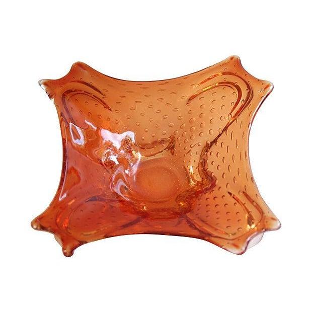 Mid-Century 1960s Italian Murano Glass Dish - Image 1 of 6