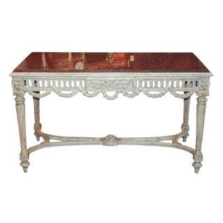 French Louis XVI Center Table