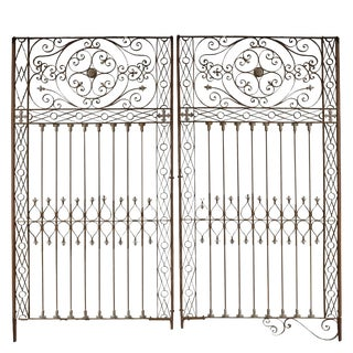 Argentine Wrought Iron Gate