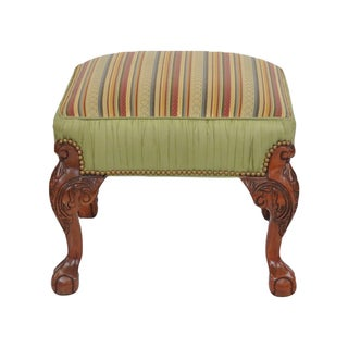 Georgian Style Ball & Claw Footstool