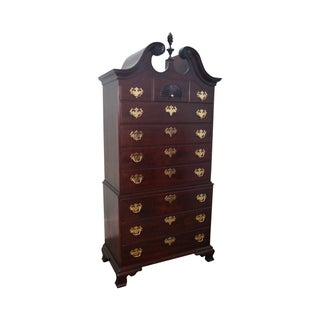 Statton Private Collection Chippendale Tall Chest