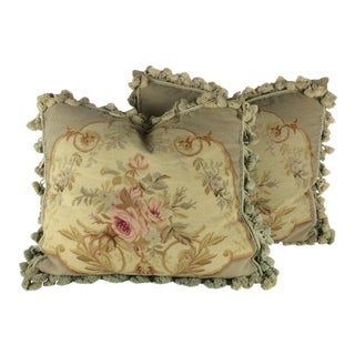 Vintage French Pillows - A Pair