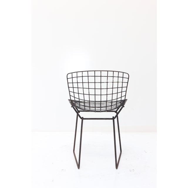 Knoll Bertoia Child Size Chair Black Ii Chairish