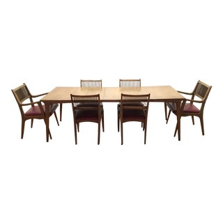 John O. Van Koert for Drexel Profile Dining Set