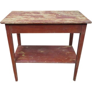 Antique Danish Painted Side Accent Table Lamp Table. Vintage   Used Austin Table Lamps   Chairish