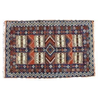 Moroccan Handmade Rug- 4′4″ × 6′3″