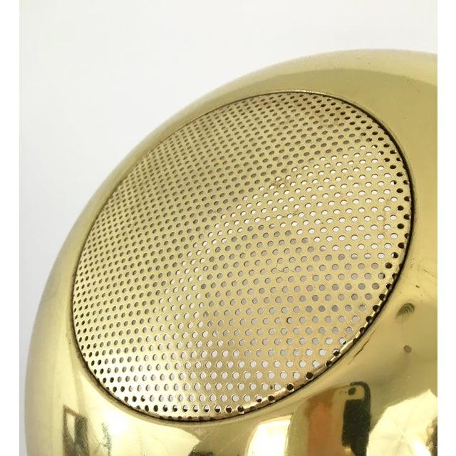 Vintage Brass Arc Floor Lamp - Image 5 of 7