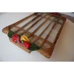 Image of Mid-Century Bamboo Tray