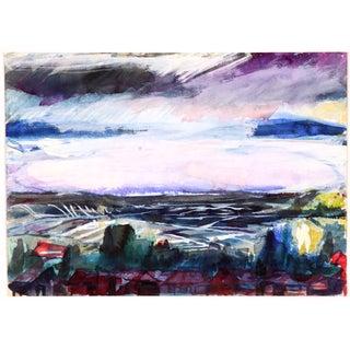 Black Sea Painting, C. 1960