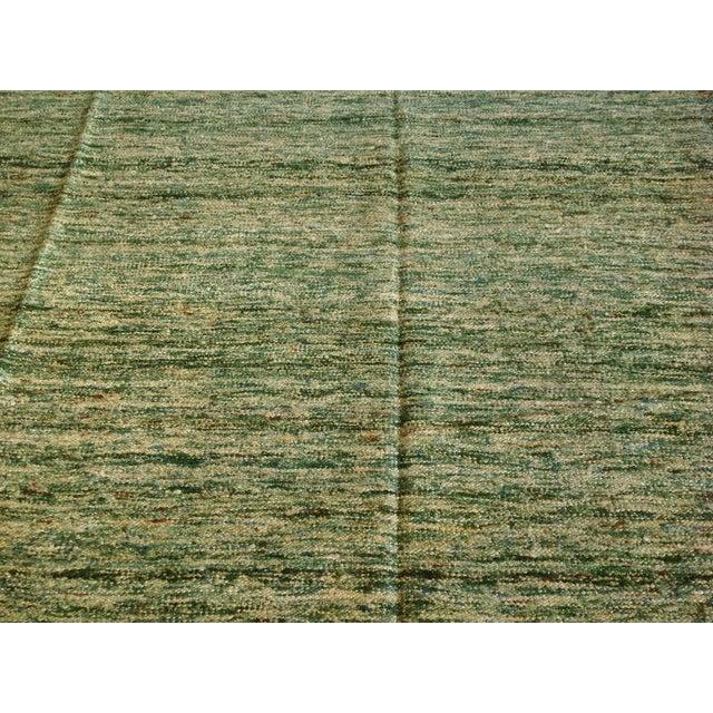 Sari Silk Flatweave Rug - 9′ × 12′ - Image 4 of 5
