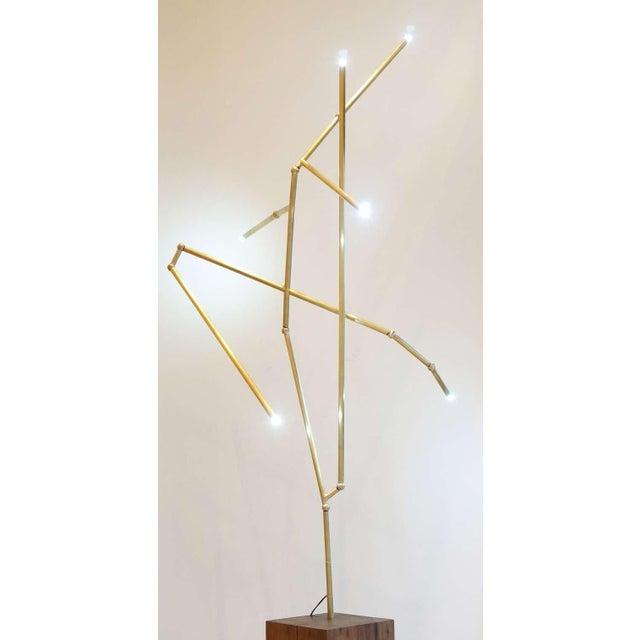 Untitled Lit Sculpture - Image 4 of 6