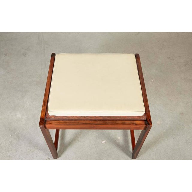 Danish Reversible End Table / Ottoman - Image 4 of 8