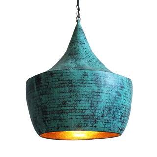 Verdigris Copper Lantern Medium
