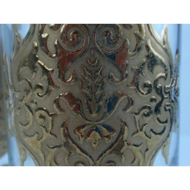 Hollywood Regency Gold Gilt Hi Ball Glasses - S/7 - Image 5 of 6