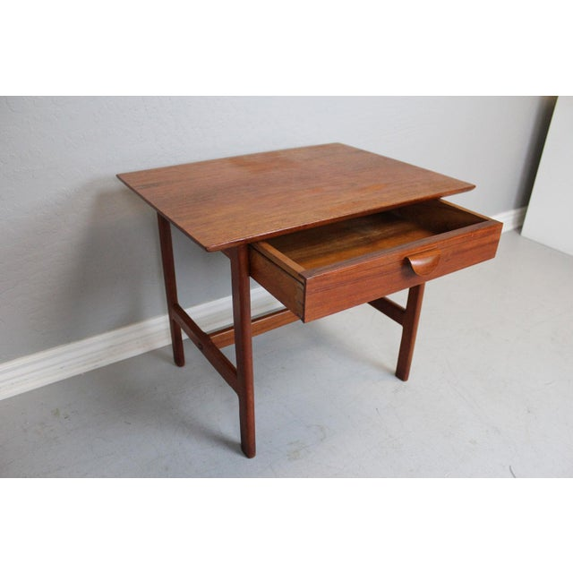 George Tanier Teak Side Table by P. Jeppeson - Image 5 of 9