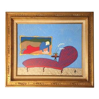 "Original Painting by Judy Henn ""Enjoy the Serenity"""