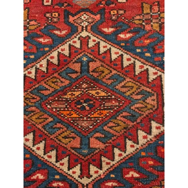 """Vintage Persian Karajeh Runner - 3'1"""" x 11'6"""" - Image 5 of 10"""