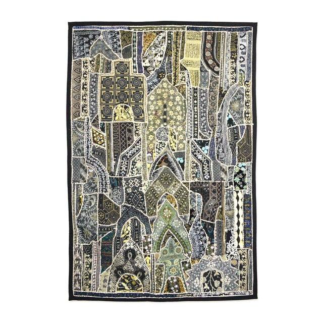 Image of Multi-Purpose Black and Green Vintage Panel