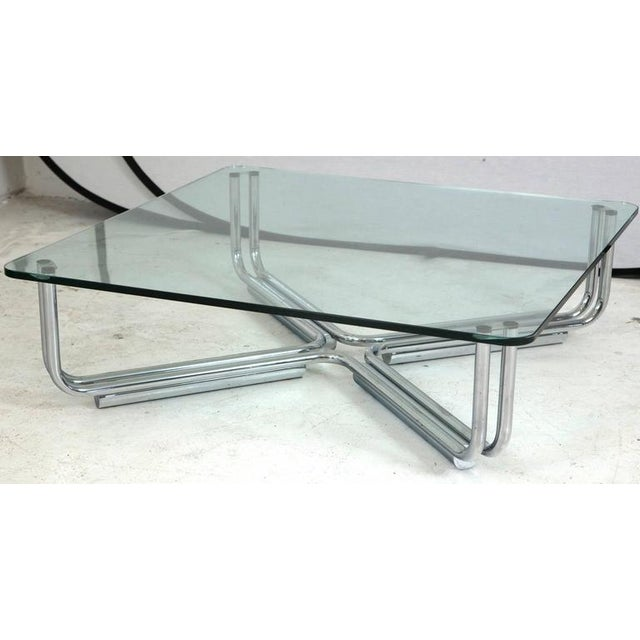 Gianfranco Frattini for Cassina Tubular Coffee Table - Image 4 of 6