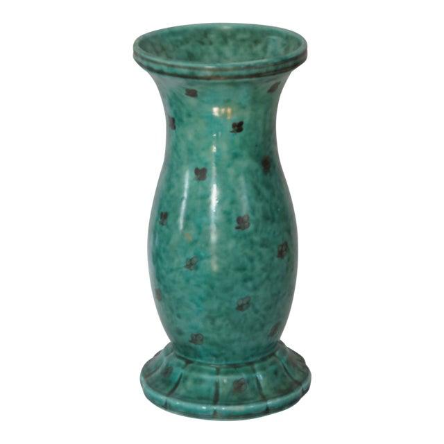 Argenta Vase Signed by Wilhelm Kage for Gustavsberg, Sweden - Image 1 of 3
