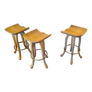 Vintage Tractor Seat Bar Stools - 3