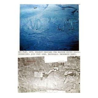 Dennis Oppenheim - Mud Flat Lithograph