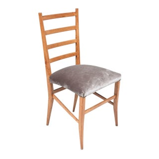 French Ladder Back Chairs - Set of 4