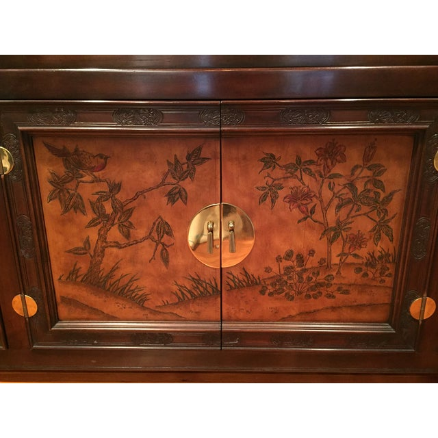 Bernhardt Credenza and China Cabinet - Image 4 of 7