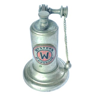 Vintage Old Gasoline Pump Cigarette Lighter