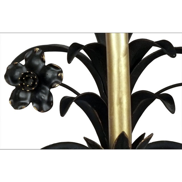 Image of 1970s Painted Metal Wall Sconces - A Pair
