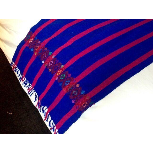 Chiapas Bluish Bed Runner or Table Top - Image 5 of 5