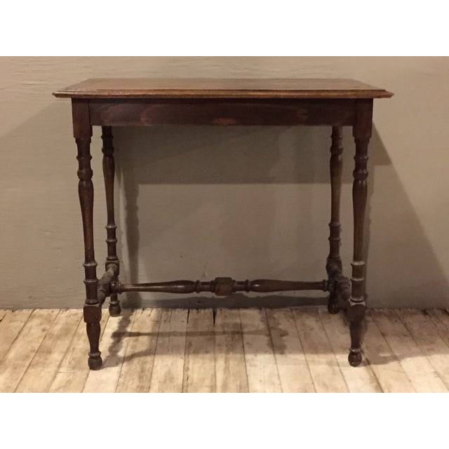 Antique 1880s Directoire Table with Carved Legs - Image 3 of 6