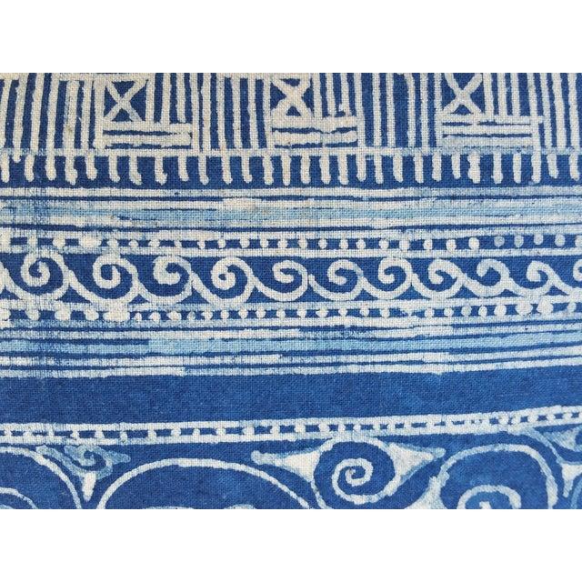 Hill Tribe Batik Pillows- A Pair - Image 4 of 5