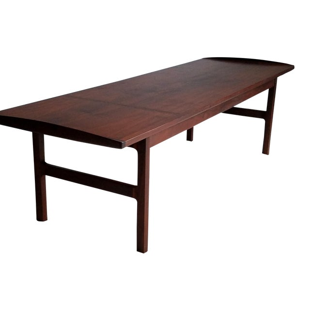 Image of Mid-Century Surfboard Style Coffee Table