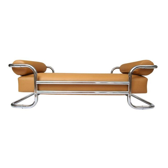 Emile Guillot for Thonet Attributed Bauhaus Daybed Sofa - Image 5 of 5