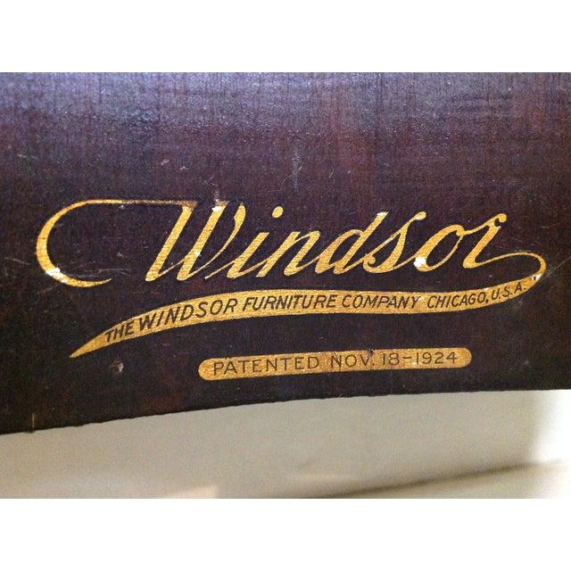 Image of 1924 Ebony Windsor Sewing Table